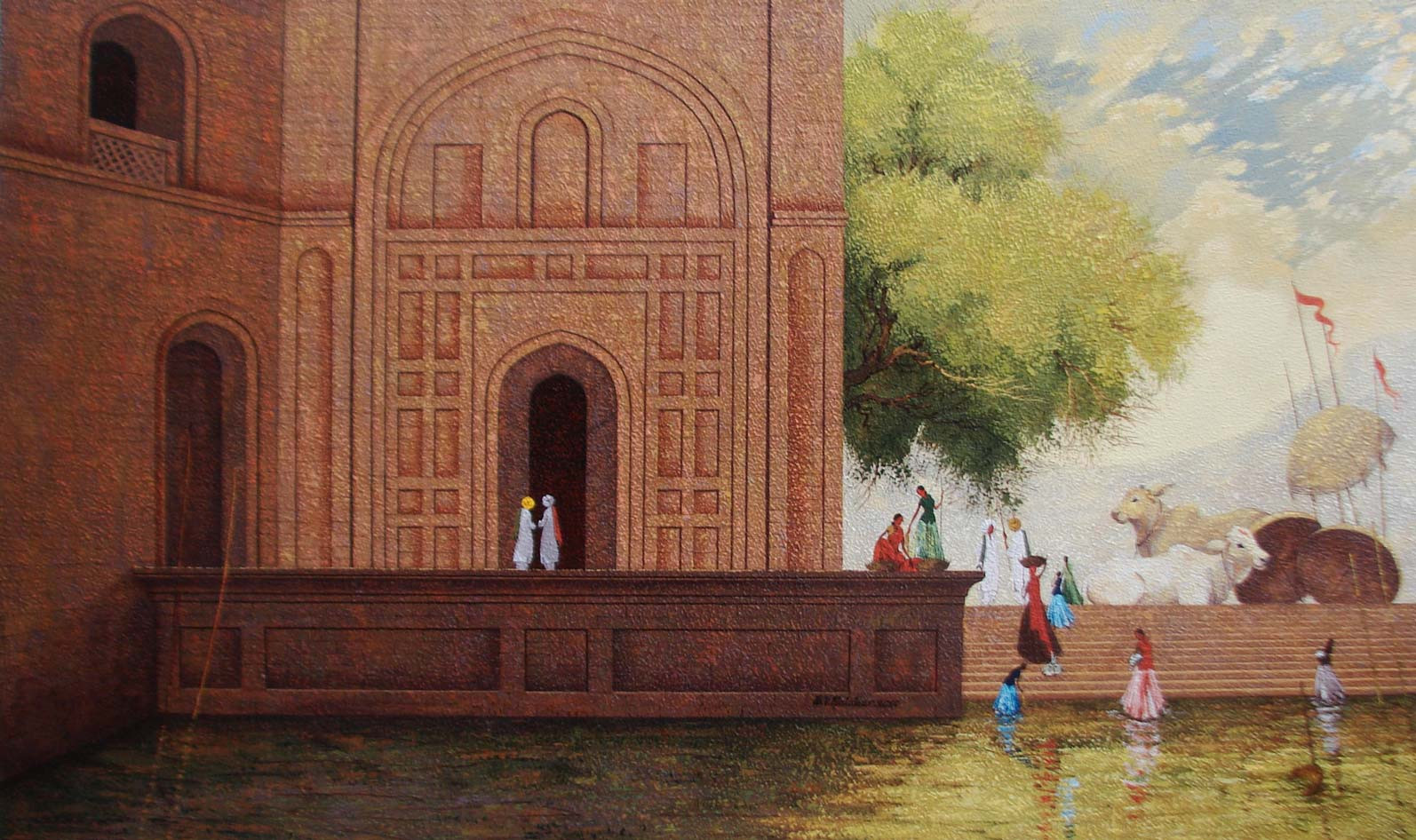 Indian Old Monument