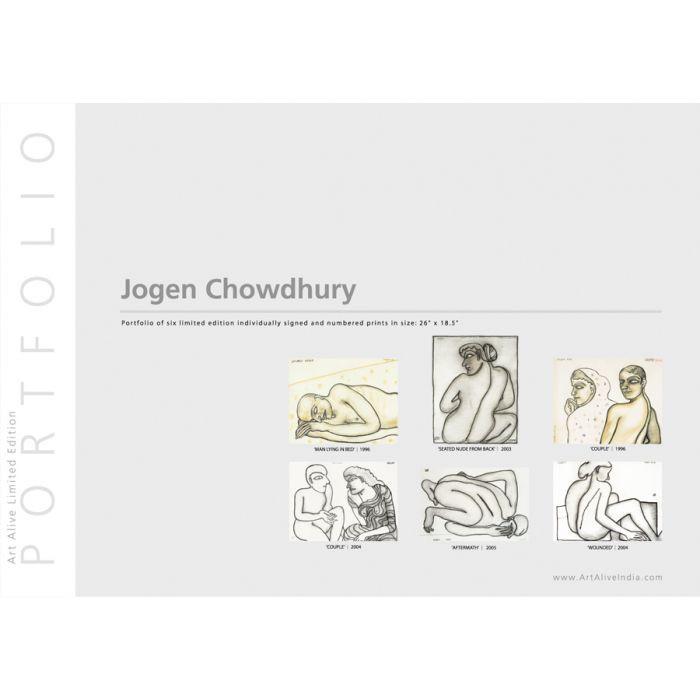 Jogen Chowdhury : First Limited Edition Portfolio of 6 Prints