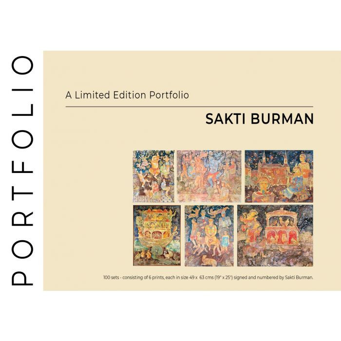 Sakti Burman : Limited Edition Portfolio of 6 Prints
