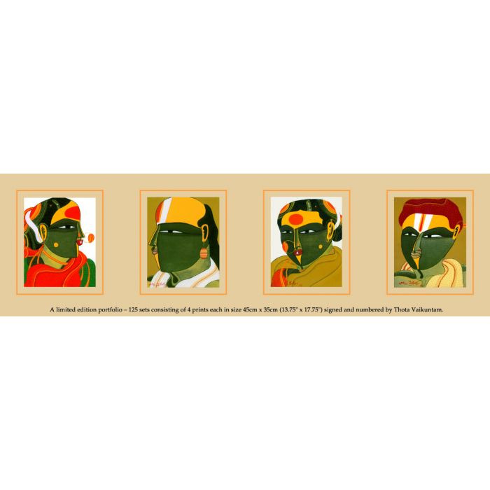 Thota Vaikuntam : Limited Edition Portfolio of 4 Prints